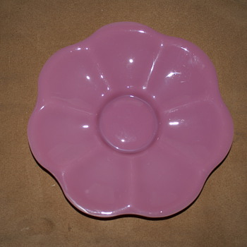 Beautiful Rose color vintage dish - China and Dinnerware