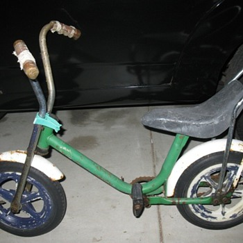 old school kids bike