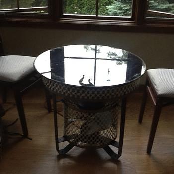 my electric fan table