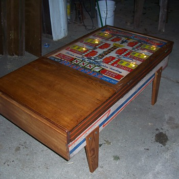 Shuffle bowl coffee table