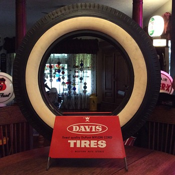 Davis Tires at your Western Auto Stores - Advertising