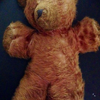 Mom's teddy bear from 1940s