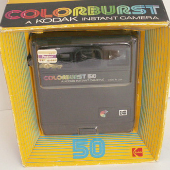 Kodak Colorburst 50 Instant Camera - Cameras