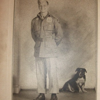 WW2 11th Airborne soldier in jump jacket