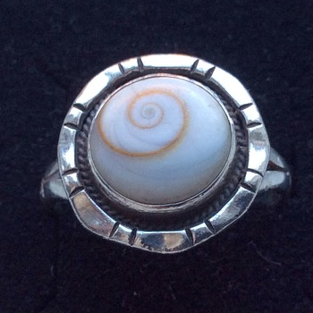 Old silver ring - Fine Jewelry