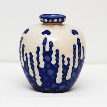 Stoneware Vase, Revernay (France), ca. 1900 - Art Pottery
