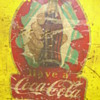 Vintage Coca-cola sticker