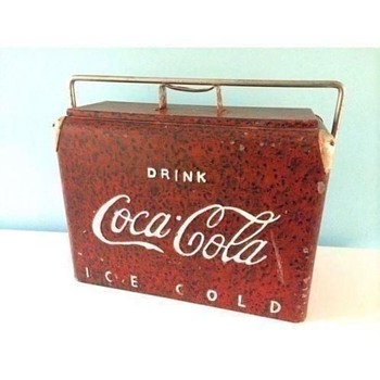 Coke Cooler 1930 - 1940 ? - Coca-Cola