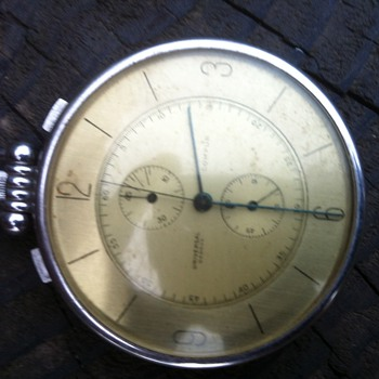 One of my recent finds universal geneve compur pocket watch - Pocket Watches