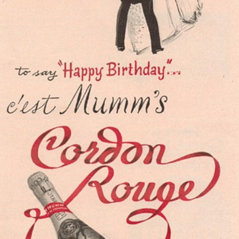 1953 Cordon Rouge Advertisement - Advertising