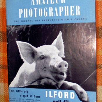 1950-amateur photographer magazine-cameras/photo equipment. - Cameras