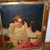 Help Identify Antique, Vintage Art portrait Painting Artist signed Escudero?
