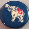 Philadelphia Athletics White Elephant Pin Back Button