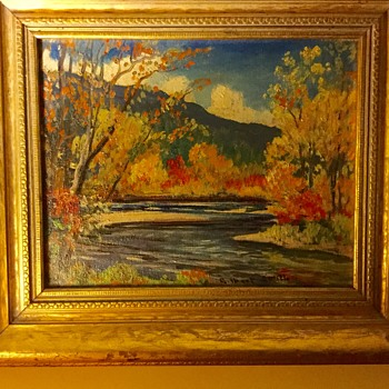 Vermont oil painting - Visual Art
