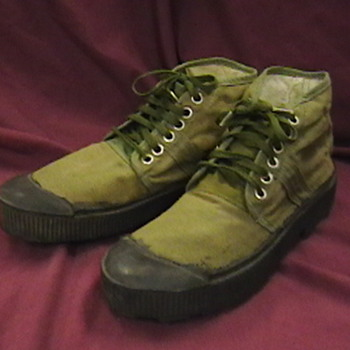 NVA Issue Canvas Boots