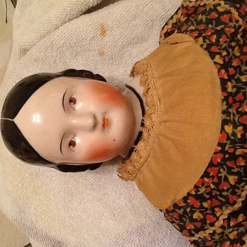 My grand mom left me this doll 50 years ago. - Dolls