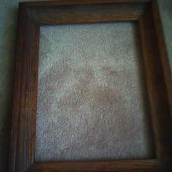 a picture frame  - Visual Art
