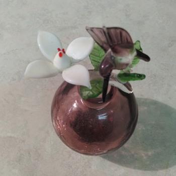 PURPLE HUMMINGBIRD BOTTLE - Bottles