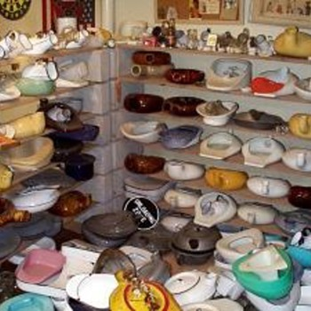 I collect antique bedpans and urinals