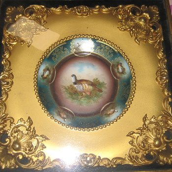 Frame and Plate encased