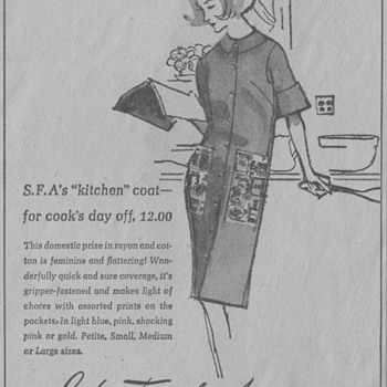 1963 - Saks Fifth Avenue Advertisement - Advertising