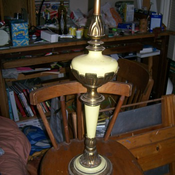 Cool Table Lamp / Info Please!