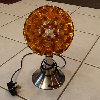What is This Mid Century Light Projection Light Heat Lamp ????? - Lamps