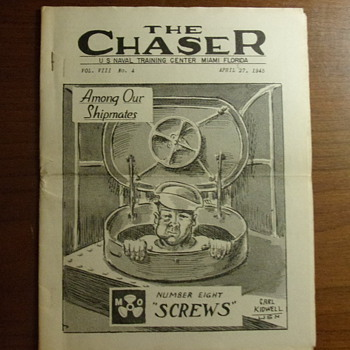 The Chaser Newsletter 1945 - Military and Wartime
