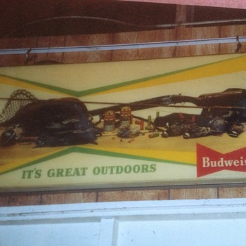 Budweiser sign not identified
