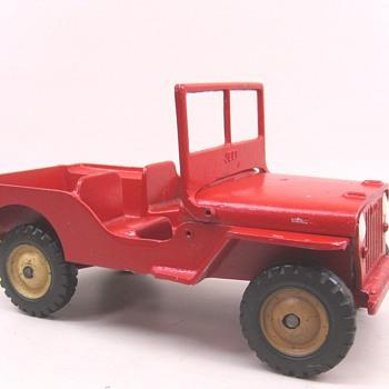 Al-Toy Jeep - Model Cars