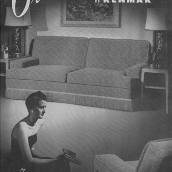 1950 Kenmar Furniture Advertisement - Advertising