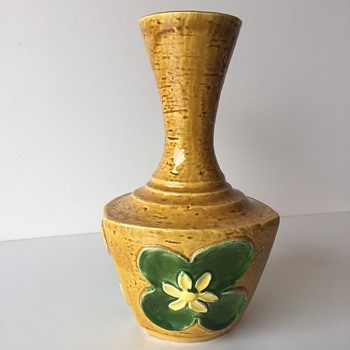 Can anyone help me identify this vase - Art Pottery