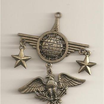 Vinatage Military Medal