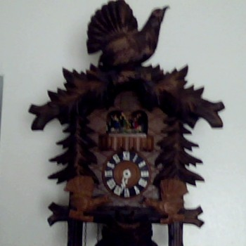 My Cuckoo Clock - has anyone ever seen one like this?