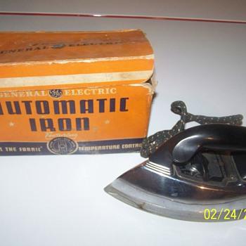 G.E iron