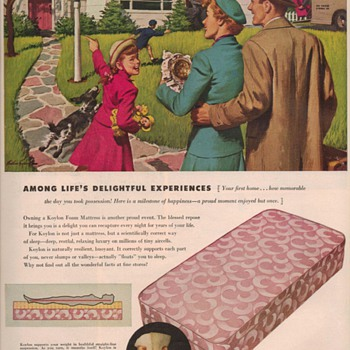 1950 Koylon Foam Advertisement - Advertising
