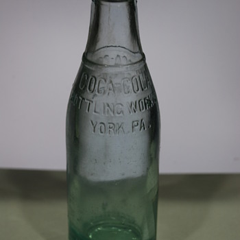 Vintage Coca Cola Bottle York PA - Coca-Cola