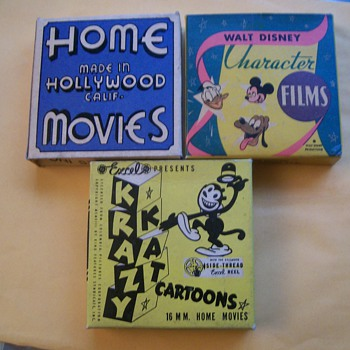 8mm film boxes