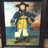 Black Beard Naive/Folk Art Painting