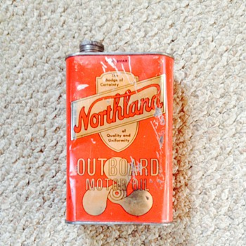 Northland Oil Can - Petroliana