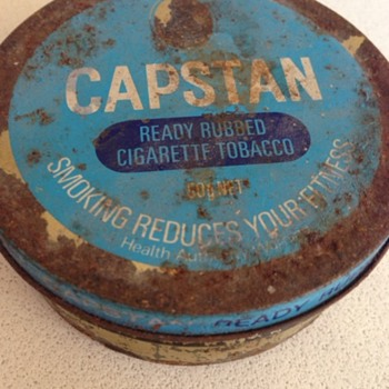 Capstan Tobacco Tin