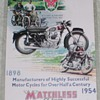 1954 Matchless Motorcycle Advertisement