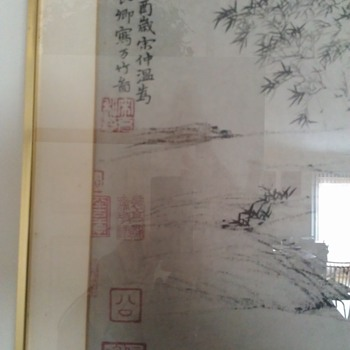 chinese painting  - Visual Art
