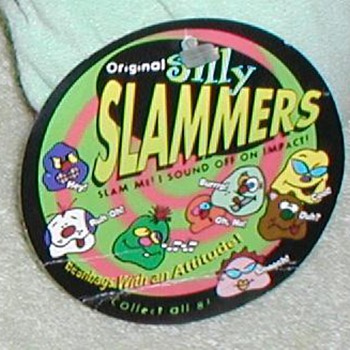 1997 Silly Slammers - Beanbags with an Attitude - Toys
