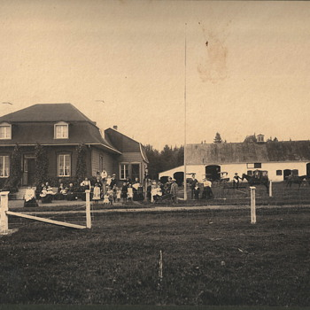 "Family Reunion at the Farm House""late 1880"""