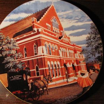Ryman Plate #196 - Music