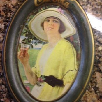 1920 Coca Cola change tray - Coca-Cola