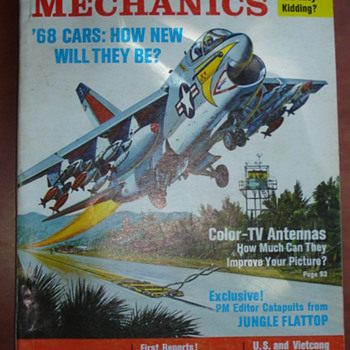 JUNE 1967 POPULAR MECHANICS - Paper