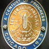 &quot;1933 Century of Progress&quot; Singer Badge