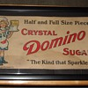 Early 1900's Domino Sugar Trolley Car Sign